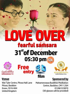Love Over Fearful Samsara (English) @ Wat Tyler Centre | England | United Kingdom