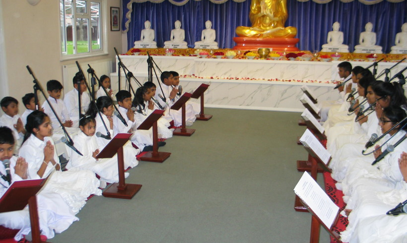Children's Pirith Chanting – 25/02/2017